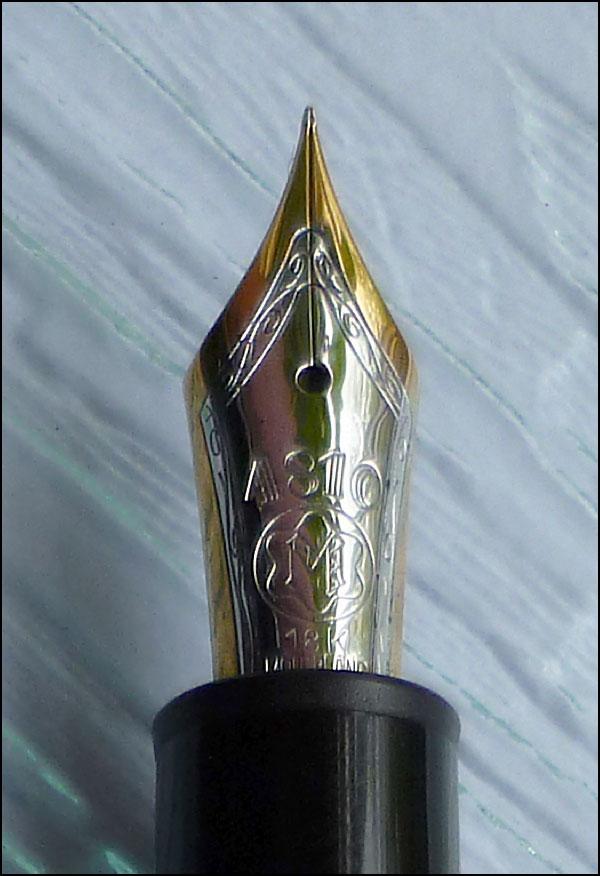 Montblanc Meisterstuck Solitaire 146 Vermeil Fount Pen