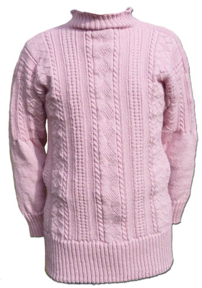 a45b0676e44d7e ... Flamborough pattern in Herring Girl Pink. In addition to supplying  Ganseys such as those above