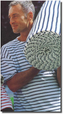 A Staithes variant pattern, with a roll-neck